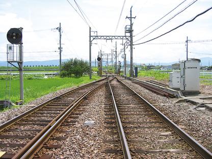近鉄田原本線 箸尾駅