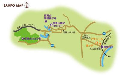 近鉄生駒線 信貴山下駅 周辺マップ