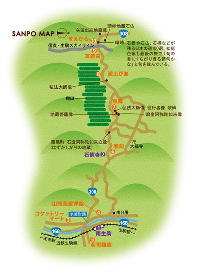 近鉄生駒線 南生駒駅 周辺マップ