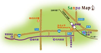 近鉄南大阪線 磐城駅 周辺マップ