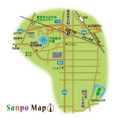 近鉄大阪線 近鉄下田駅 周辺マップ