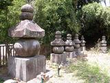 額安寺五輪塔